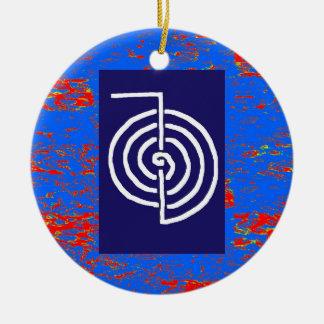 CHOKUREI  Reiki Basic Healing Symbol TEMPLATE gift Christmas Ornament