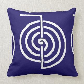 CHOKUREI Reiki Basic Healing Symbol TEMPLATE gift Throw Pillows