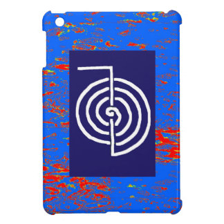 CHOKUREI Reiki Basic Healing Symbol TEMPLATE gift Case For The iPad Mini