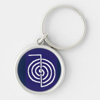 CHOKUREI  Reiki Basic Healing Symbol TEMPLATE gift Key Ring