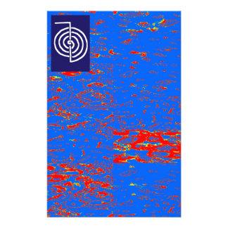 CHOKUREI Reiki Basic Healing Symbol TEMPLATE gift Stationery Paper