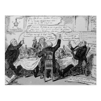 Cholera Consultation at Central Board of Postcard