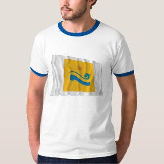 Chollanam-do Waving Flag T Shirt