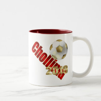 Chollima 2010 Soccer football lovers logo gifts Two-Tone Mug