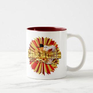 Chollima soccer football Artwork gear Two-Tone Mug