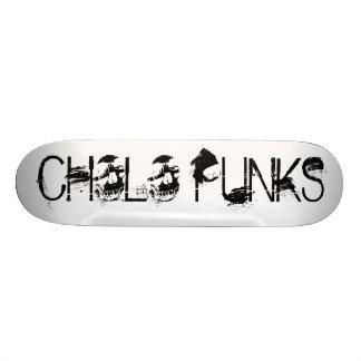 Cholo Punks - Skulls 20.6 Cm Skateboard Deck