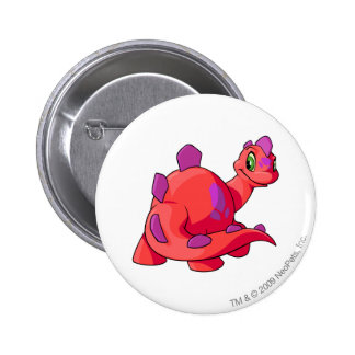 Chomby Red 6 Cm Round Badge