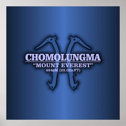 Chomolungma (Mt Everest) Posters