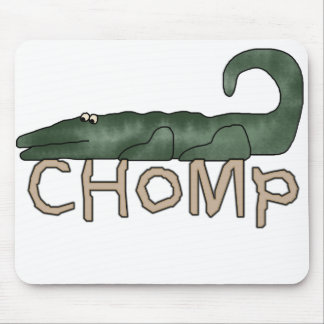 Chomp Alligator  Mouse Pad