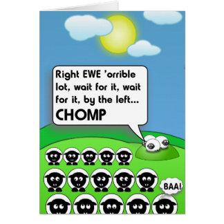CHOMP CARD