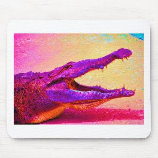 Chomp Chomp Rainbow Gator Mouse Pad
