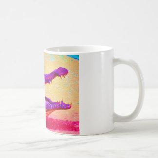 Chomp Chomp Rainbow Gator Coffee Mug