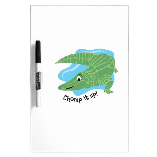 Chomp It Up Dry-Erase Whiteboard