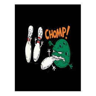 Chomp Postcard
