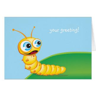 Chomp the Grub :: Greeting Card