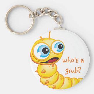 Chomp the Grub :: Key Ring