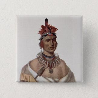 Chon-Ca-Pe or 'Big Kansas', an Oto Chief 15 Cm Square Badge