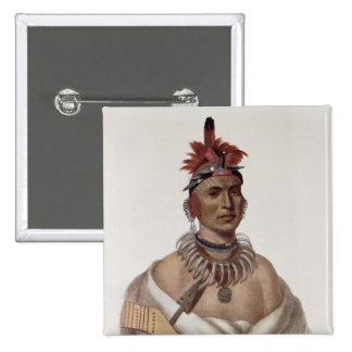 Chon-Ca-Pe or 'Big Kansas', an Oto Chief Pin