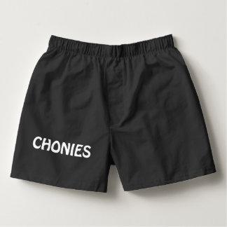 Chonies Men's Boxer Underwear Shorts Boxers