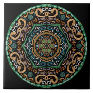 Chons Da Mandala Large Square Tile