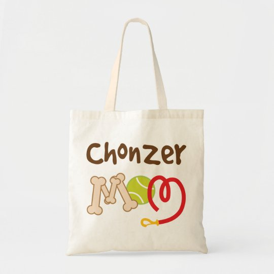 Chonzer Dog Breed Mum Gift Tote Bag