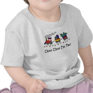 Choo Choo I'm 2 Train T-shirt