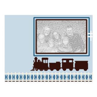 Choo Choo Post Card