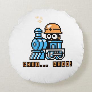 Choo Choo! Round Cushion