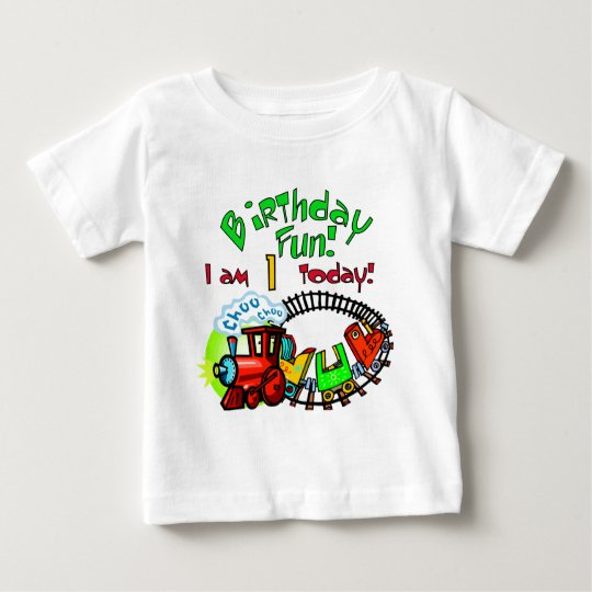 Choo Choo Train 1st Birthday Tshirts and Gifts