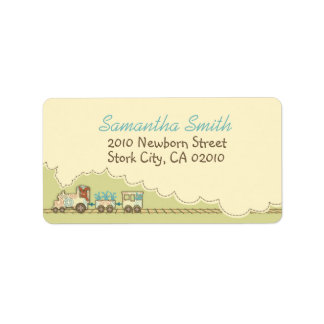 Choo Choo Train Address Label