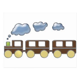 Choo Choo Train Postcard
