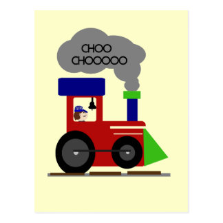 Choo Choo Train tshirts and Gifts Postcard