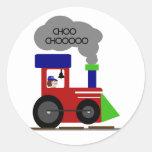 Choo Choo Train tshirts and Gifts Round Sticker