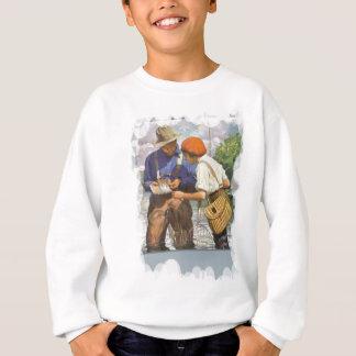 Choose a fishing fly sweatshirt