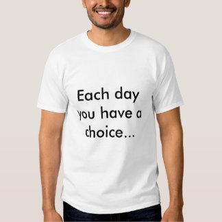Choose a side tshirts