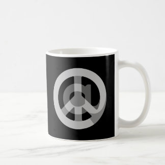 CHOOSE ANY CUSTOM COLOR @ Peace Sign Social Media Coffee Mug