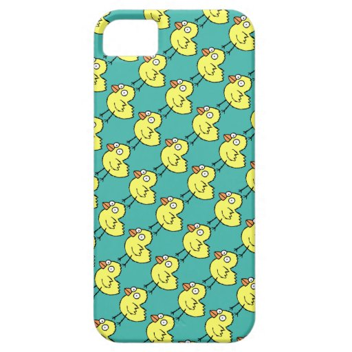 Choose Background Color Baby Chicks Pattern iPhone 5 Cover