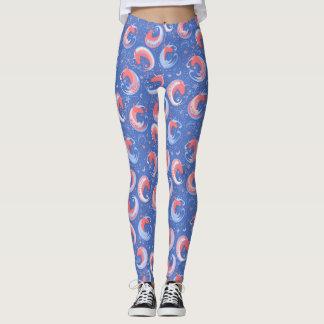 Choose Background Color for Unicorns Leggings