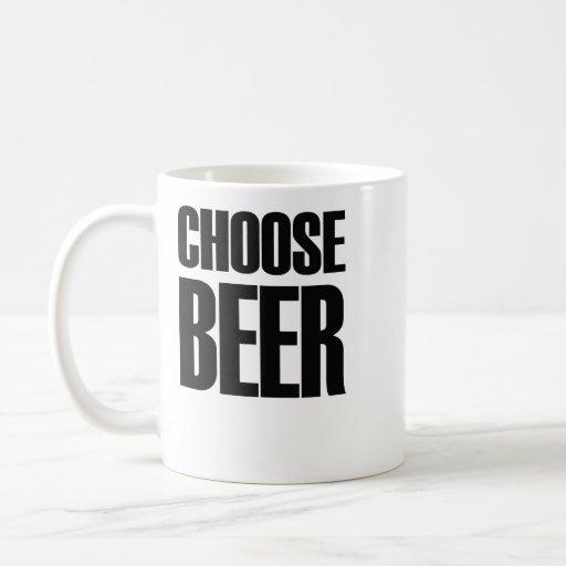 Choose beer: eighties mug