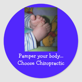 ..Choose Chiropractic Round Sticker