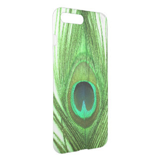 Choose Color Close Up Green Peacock Feather iPhone 8 Plus/7 Plus Case