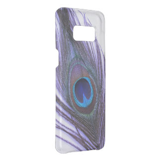 Choose Color Close Up Purple Peacock Feather Uncommon Samsung Galaxy S8 Case