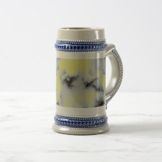 Choose Color Snow Camo Beer Stein