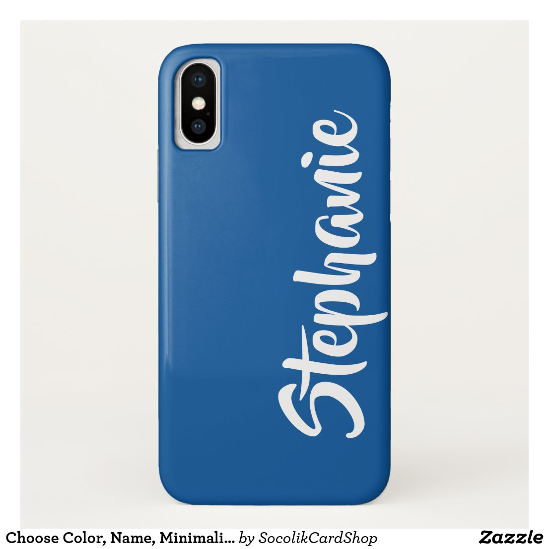 Choose Colour Personalised iPhone XS, XS Max, XR Case-Mate iPhone Case