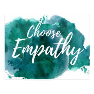 Choose Empathy Protest Postcard