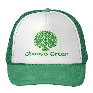 Choose Green Hat