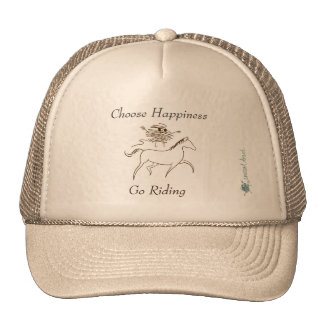 Choose Happiness - Go Riding Cap
