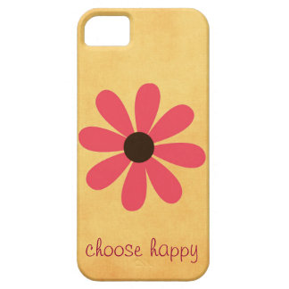 Choose Happy Affirmation iPhone 5 Cover