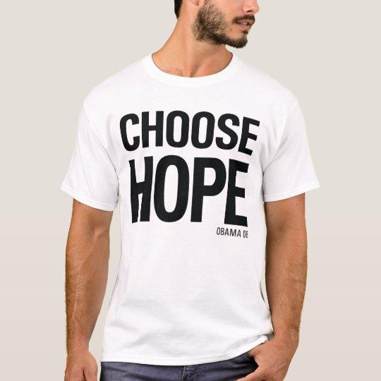 Choose Hope Obama 08 - Vintage 80s Style