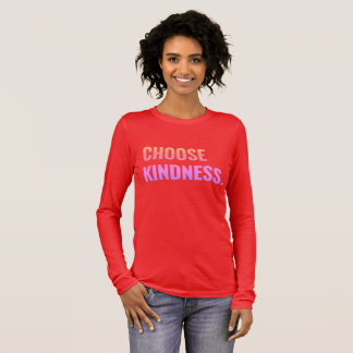 Choose Kindness Comfy Long-Sleeved Tee